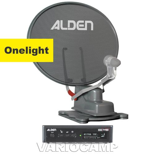 ALDEN Onelight 60 HD Platinium S.S.C. mit Single / Twin / Skew