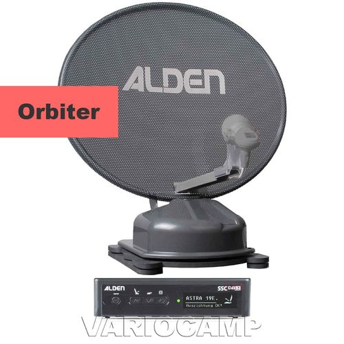 ALDEN Orbiter 60 HD Platinium S.S.C, mit Single / Twin / Skew