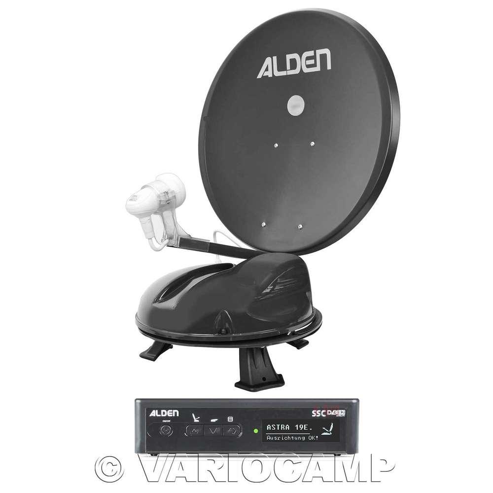Alden Satlight Track 50 Hd Ssc Mobile Vollautom Sat Antenne