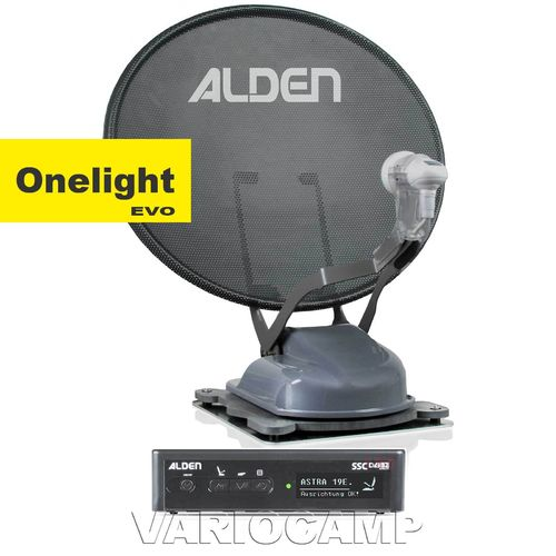 ALDEN Onelight 60 HD EVO Platinium S.S.C. Single/Twin/Skew, grau