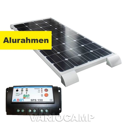 Solarset ALDEN HIGH POWER Easy-Mount 100 Watt mit Regler 150 Watt