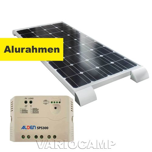 Solarset ALDEN HIGH POWER Easy-Mount 100 Watt mit Regler 300 Watt