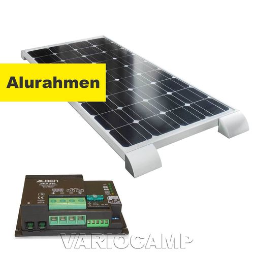 Solarset ALDEN HIGH POWER Easy-Mount 100 Watt mit Regler 330 Watt