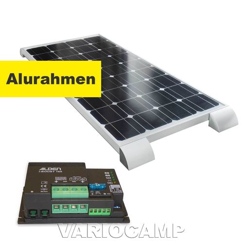 Solarset ALDEN HIGH POWER Easy-Mount 100 Watt+Regler iBoost 165 W